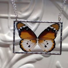 20 percent off sale African Monarch Butterfly by WorkofWhimsy Monarch Butterfly, Butterfly Wings, Great Christmas Gifts, Great Gifts, 20 Percent Off, Soldered Pendants, Off Sale, Pearl Beads, Sterling Silver Chains