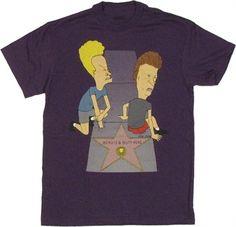 Beavis and Butthead Hollywood Star Hijinks T-Shirt