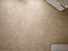 Ceramic floor tiles HEXAWOOD by EQUIPE CERAMICAS
