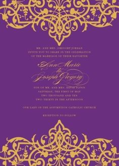 0519 bollywood wedding invitation we