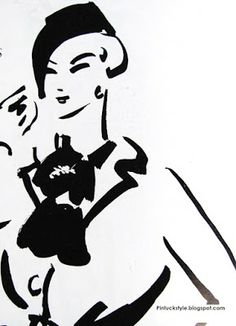 Dagmar Freuchen-Gale illustration (via Pintucks)