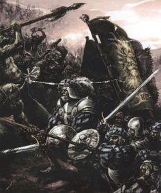 Fantasy Battle, Fantasy Races, Dark Fantasy, Fantasy Art, Warhammer Empire, Warhammer Art, Military Art, Military History, Warhammer Fantasy Roleplay