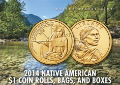 2014 Native American $1 Coin United States Mint, Coin Collecting, Pacific Northwest, Nativity, Native American, Coins, Rooms, The Nativity, Native Americans