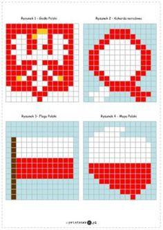 Diy For Kids, Crafts For Kids, Kindergarten, Crochet Square Blanket, Montessori Math, Jewelry Patterns, Pixel Art, Techno, Classroom