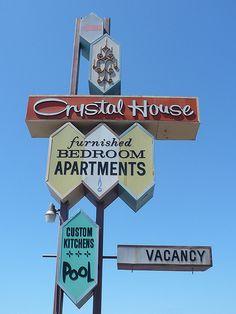 50s motel sign