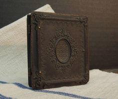 Antique Union Case Victorian Daguerreotype Photo Frame /