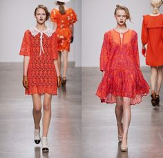 Ivana Helsinki 2014 Spring Summer Womens Runway Collection - New York Fashion Week - Pier 59 Studios: Designer Denim Jeans Fashion: Season Collections, Runways, Lookbooks and Linesheets