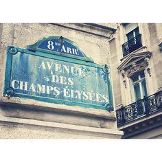 Avenue des Champs Elysées  Fine Art Print  7X5  by JulienDenoyer