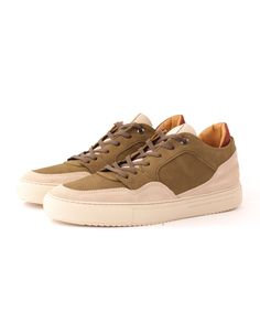 2634cf8944 Android Homme - Omega Nubuck - Olive