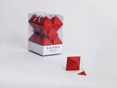 Origami-Inspired Teabag Concept Becomes A Decorative Piece After Opening Up
