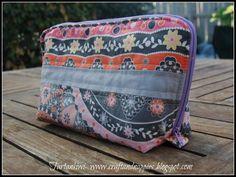 Zip Around Sewing Case