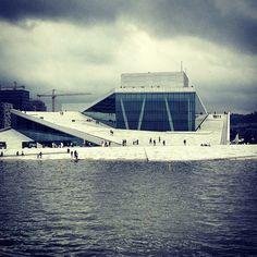 The Oslo Opera House Oslo Opera House, Tilt, Plane, Public, Study, Floor, Architecture, Building, Instagram Posts