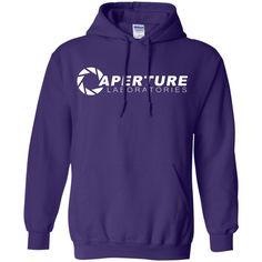 Aperture Laboratories T-Shirt-01 Pullover Hoodie 8 oz
