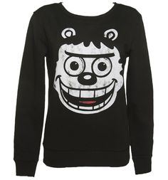 Its on my valentines list. Ladies Gnasher Face Beano Sweater #TSVDAYCOMP