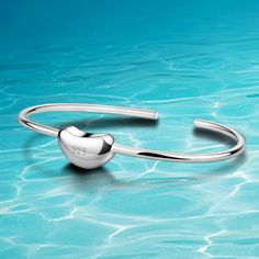 fashion heart bangle for women 925 sterling silver bracelets & bangles women bracelet fashion statement