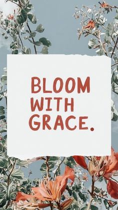 Bloom with grace gracenotperfection dailyquotes selflove selflovequotes motivationalquotes motivationmonday dailyinspiration 788833690964785365 Bible Verses Quotes, Faith Quotes, Words Quotes, Qoutes, Grace Quotes, Wall Quotes, Liking Someone Quotes, Anniversary Quotes, Positive Quotes