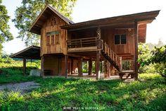 แบบบ้านไม้ 2 ชั้น เรือนไทย ไม้สักทั้งหลัง