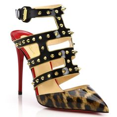 $1400 PATENT LEOPARD STUDDED SANDALS 100 37 1/2 NWB! I've only tried this on and absolutely love it so I'm letting go for the full price only! This amazing pair will  come with box, dustbag and extra heel taps! Hard to find! This is Christian Louboutin's answer to the Valentino Studded heels!❤️ ‼️ Absolutely gorgeous‼️ Follow me  INSTAGRAM: augustpinkstyle  TWITTER: augustpinkstyle  PINTEREST:  augustpinkstyle YOUTUBE CHANNEL:  augustpinkstyle WEBSITE: www.augustpinkstyle Christian Louboutin…