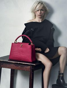 Michelle Williams Louis Vuitton SS 2015