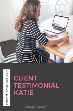 Weight Loss Client Testimonial Katie shares how she finally ditched dieting. #diets #dieting #weightloss #client #ditchdieting #podcast Best Weight Loss Foods, Weight Loss Snacks, Weight Loss Tips, Nutrition Tips, Health And Nutrition, Health And Wellness, Healthy Low Calorie Meals, Low Calorie Recipes, Start Losing Weight