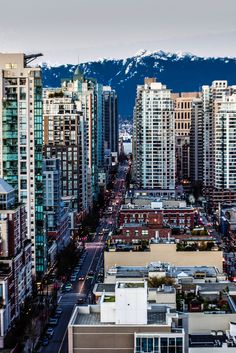 Homer Street, Vancouver   Canada (by trainerKEN.).I want to go see this place one day. Please check out my website Thanks.  www.photopix.co.nz