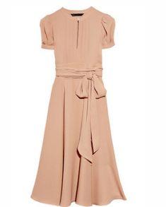 pretty blush dress