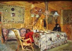 Edouard Vuillard.                                                                                                                                                                                 Mais