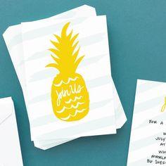 Having a summer shindig?  Card Packs work great for custom invites.