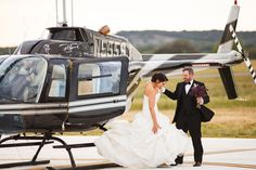 Want a unique wedding? Try booking an exit/entrance flight with us today! Call (843) 822-4356 for more information. #holycityheli #charleston #wedding