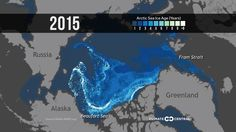 Watch 26 Years of Arctic Ice Disappear in Seconds