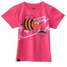 Tee KTM (17) Girls Bee Pink/Orange from Boyd Motorcycles