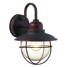 Maybe outdoor lighting for sconces on either side of the bathroom mirror.