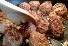 Kjøttboller Tapas, Pork, Pizza, Chicken, Meat, Kale Stir Fry, Pigs, Cubs, Kai