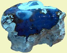 Blue amber from Palo Quemado blue amber mine, Dominican Republic. There are few places in the world where such variety of amber can be found. Minerals And Gemstones, Rocks And Minerals, Crystals And Gemstones, Stones And Crystals, Gem Stones, Gemstone List, Gemstone Colors, Types Of Blue, Blue Amber