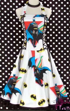 Who wouldn't want a Batman dress?