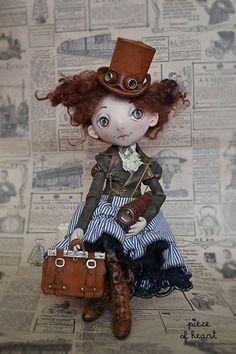 Collectible handmade dolls.  Fair Masters - handmade allow yourself a little adventure .... Handmade.