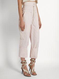 Isabel Marant Duke high-rise zip-front trousers