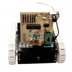 War Field Spying Robot With Night Vision Wireless Camera By Android Applications - Observers Arduino Based Projects, Robotics Projects, Engineering Projects, Electronic Engineering, Pick And Place Robot, Electrical Projects, Wireless Camera, Android Applications, Night Vision