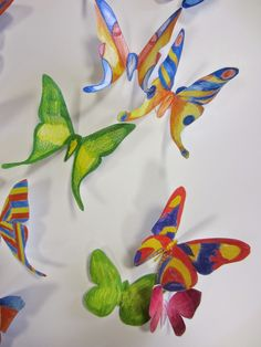 Butterfly, Gallery, Blog, School, Bricolage, Art Education Lessons, Blogging, Bowties, Butterflies