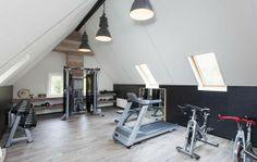 Fitness ruimte op zolder