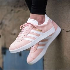 31d63ce2ab3 adidas Shoes | Adidas Gazelle Vapour Pink Sneakers | Color: Pink/White |  Size: 6.5