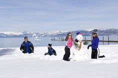 List of Winter Holiday Activities for Kids in Lake Tahoe & Nevada