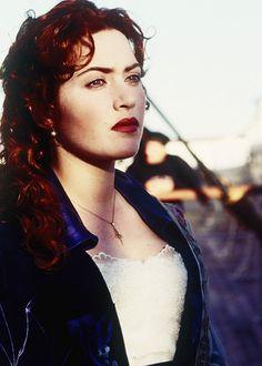 ROSE. Her makeup is just UGH. Porcelain matte skin, beautiful glow, dark brick red lips (usually)
