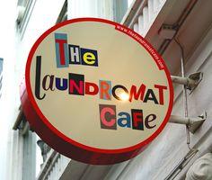 Typography & Logo. Reykjavik. Hipsta. The Laundromat Cafe.