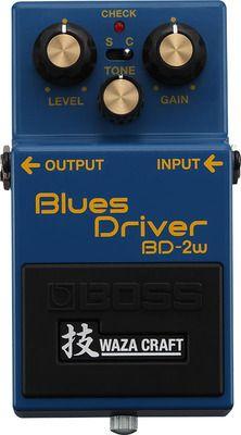 BOSS BD-2W(J) Blues Driver  Blues Driverは、前から一度使ってみたかった。 そろそろ、買ってみるかな。