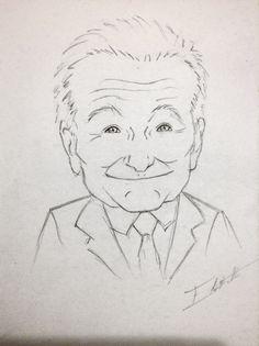 Robin Williams by ~elin14 on deviantART