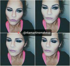 Smoke eye  @youareespecial @ritamartinsmakeup #youtuber #youtuberportuguesa #youarespecialritamartins #smokeeye #makeup #makeupartist #maquilhagem #olhoesfumado #bananapowder #itstyle #freedom