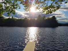 Our view of the sunset at Pemi Shore Cottages Cabin Rentals, Sunlight, Cottages, River, Sunset, Pictures, Outdoor, Photos, Outdoors