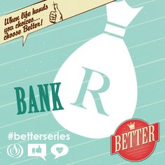 BETTER BANK this Sunday Ps. @JohnDScholtz is in the house @Harvest Church with Part 6 of our #BetterSeries