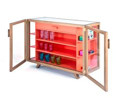 'Vitrina' cabinet by Hierve Design Consultancy for Case